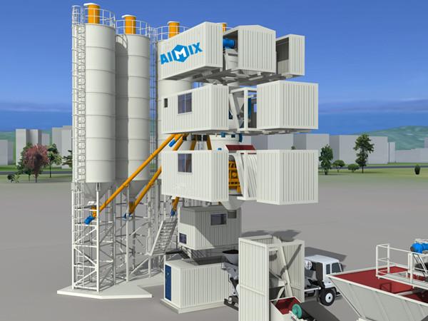 Fabricante confaible de plantas de concreto