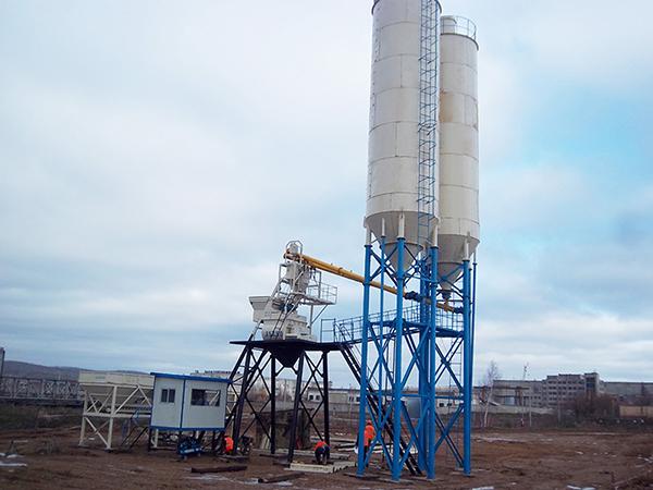 Empresa profesional de mini planta mezcladora de concreto