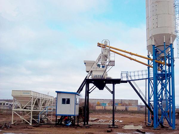 Fábrica de planta de hormigón