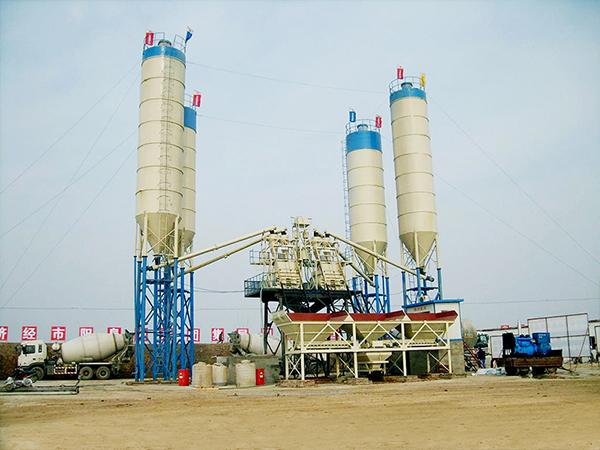Fábrica profesional de planta dosificadora y mezcladora de concreto