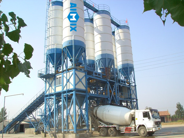 Fábrica de planta de concreto profesional