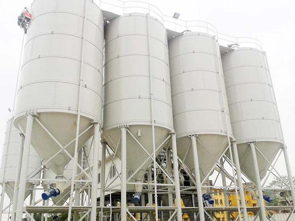 Fábrica de concreto-planta de concreto