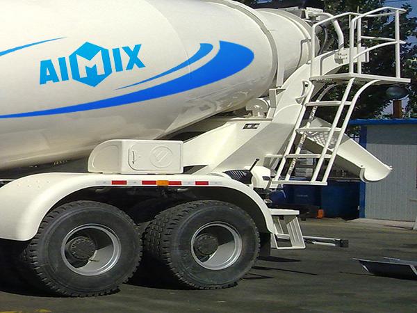 Camión mixer concreto profesional en AIMIX fábrica