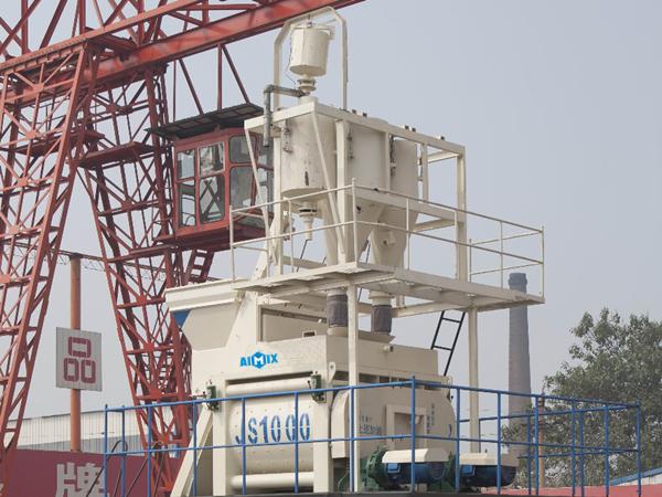 Cómo funcionar una planta de hormigón-AIMIX equipos