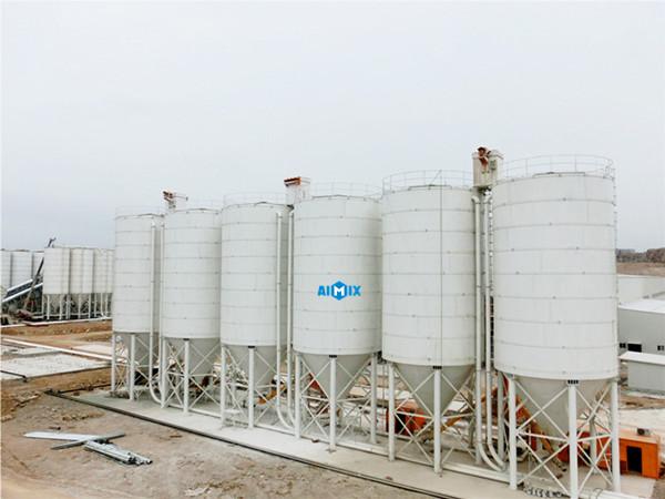 Fábrica de silos de cementos