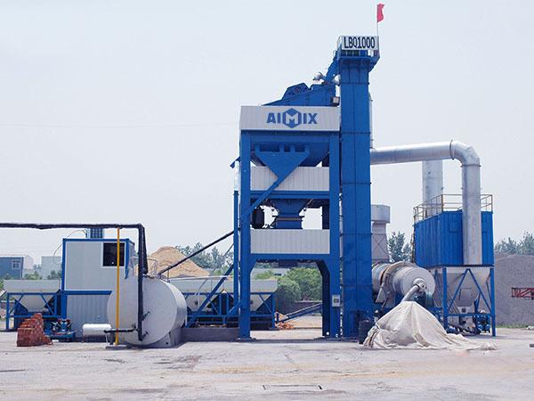 Fabricante de planta de asfalto profesional
