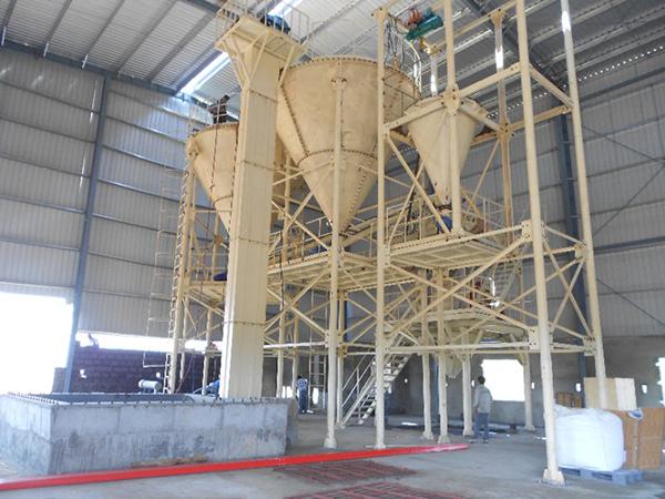 Fabricante de plantas de mortero seco y humedo
